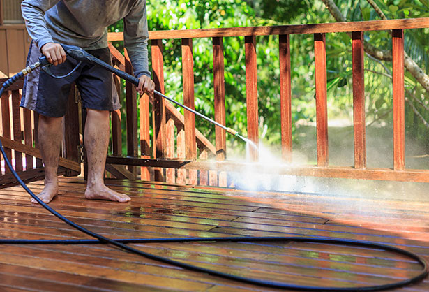 Patio cleaning services in Surrey